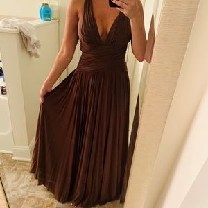BCBG evening gown